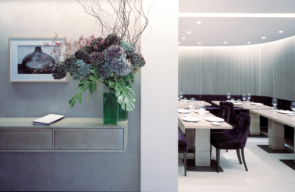 Restaurant Hotel Interiors Luxury Sensing Paris, France International