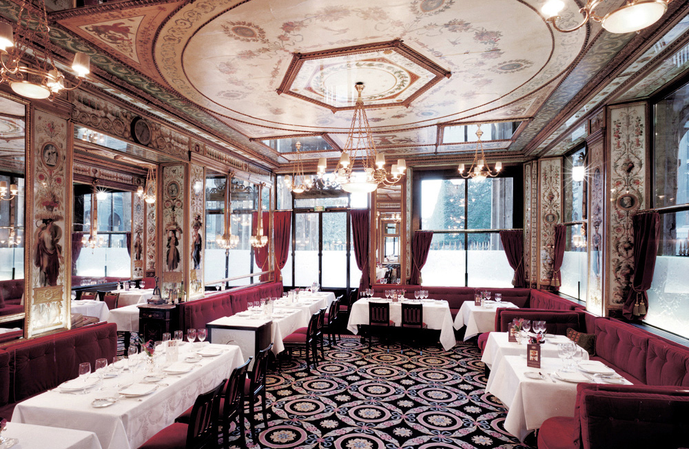 Restaurant Hotel Interiors Luxury Le Grand Vefour Paris, France International