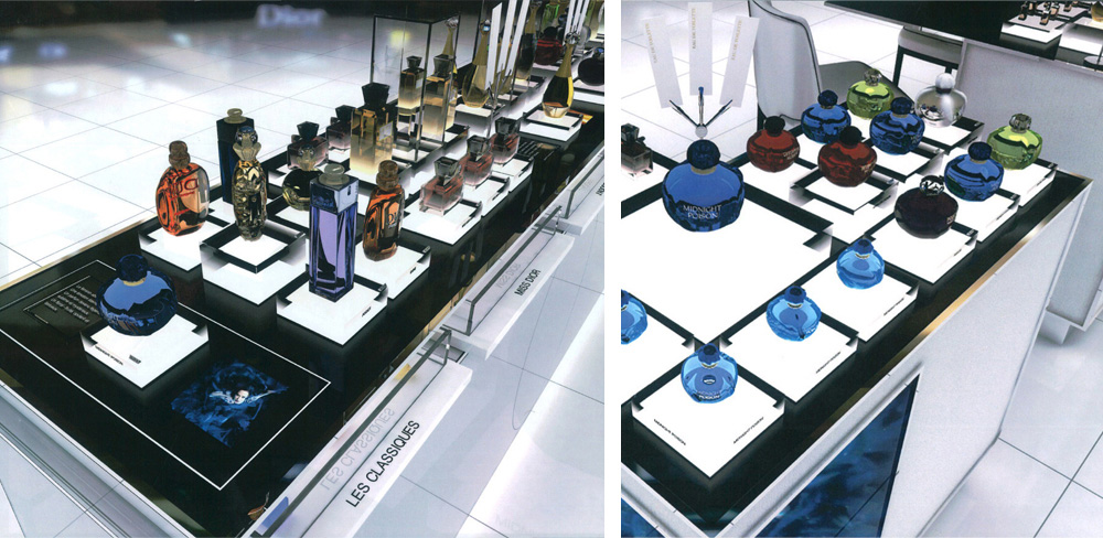 Retail Concept Store for Christian Dior Paris, France International