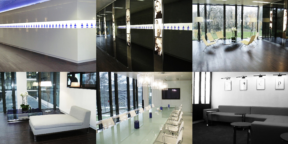 Corporate Office Interiors for International Flavors & Fragrances (IFF)