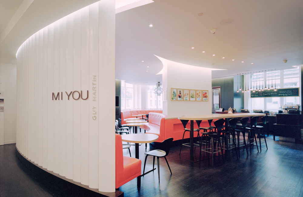 Restaurant Hotel Interiors Luxury Miyou Paris, France International